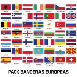 PACK BANDERAS EUROPA