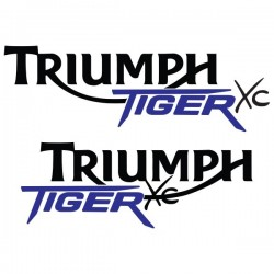LOGO TRIUMPH TIGER XC