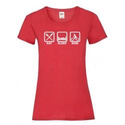 Camiseta Eat Sleep Ride...