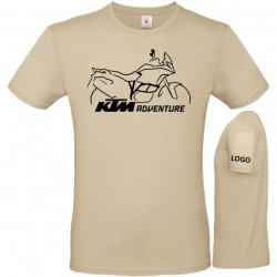 Camiseta diseño KTM1190