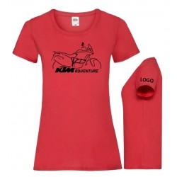 Camiseta diseño KTM1190...