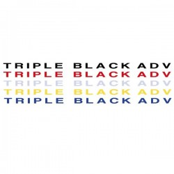 VINILO TRIPLE BLACK ADV...