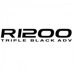 VINILO R1200 / TRIPLE BLACK...