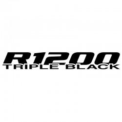 VINILO R1200 TRIPLE BLACK LC